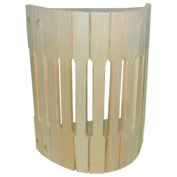 абажур для светильника, настенный, липа, 25*16*30 см банные штучки абажур д светильника угловой косичка 27х10 5х30 5см липа