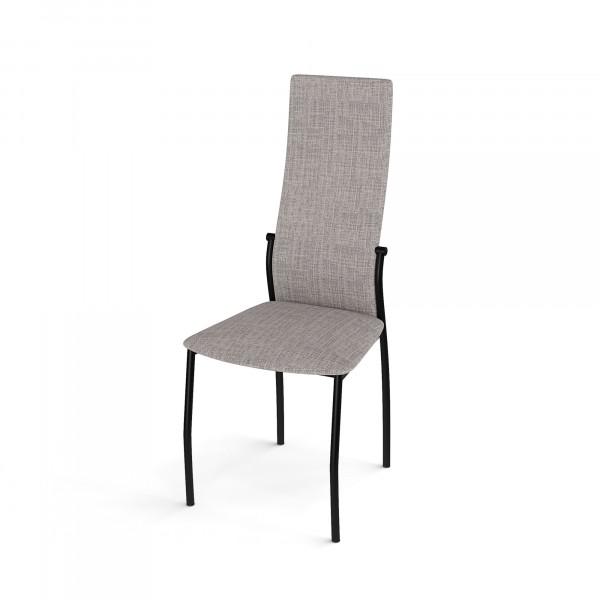 стул галс каркас черный/ткань elain №9 бежевый dikline недорого