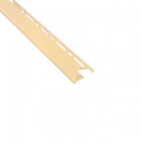угол наружный для плитки 9-10 мм х 2,5 м слоновая кость тп10013051