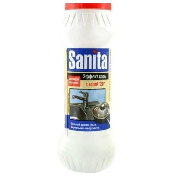 порошок чистящий санита 400г сода эффект 2113