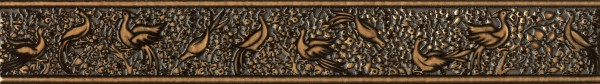 Фото - бордюр nobilis 50*7 коричневый бв68032 м квадрат империал 7 5х25 бордюр 1 вензель 273761