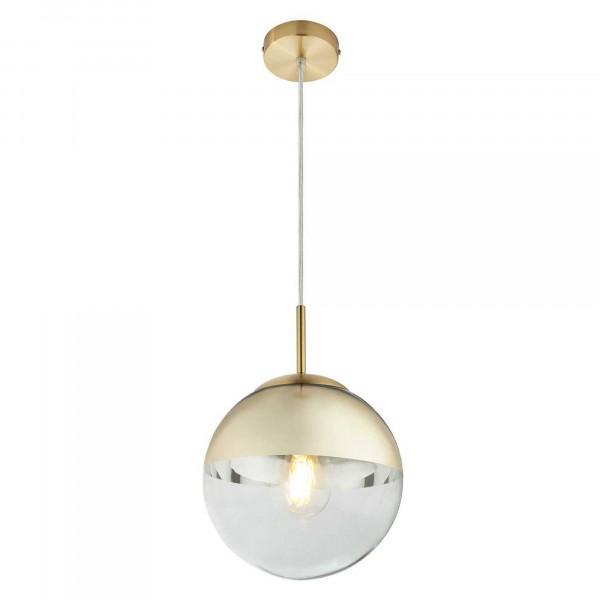 светильник подвесной toplight glass tl1203h-11gd е27 1x40вт ip 20