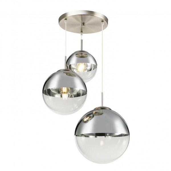 светильник подвесной toplight glass tl1203h-03ch е27 3x40вт ip 20