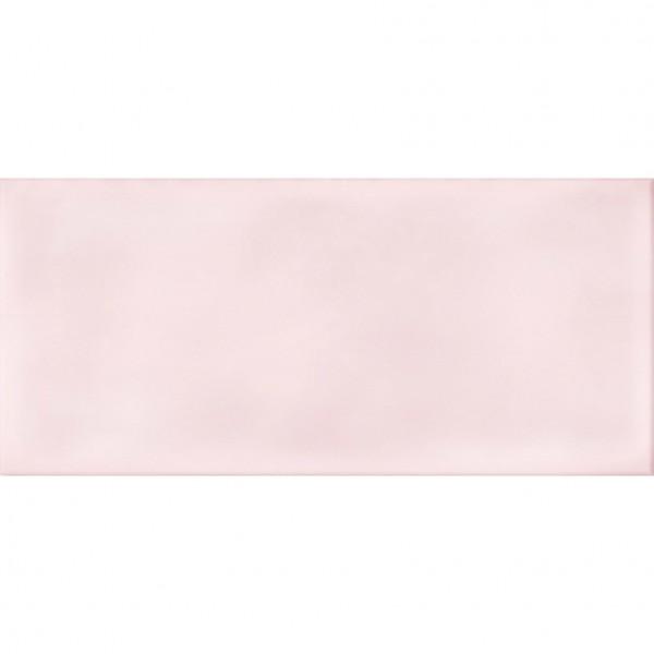 настенная плитка pudra 44х20 рельеф розовый