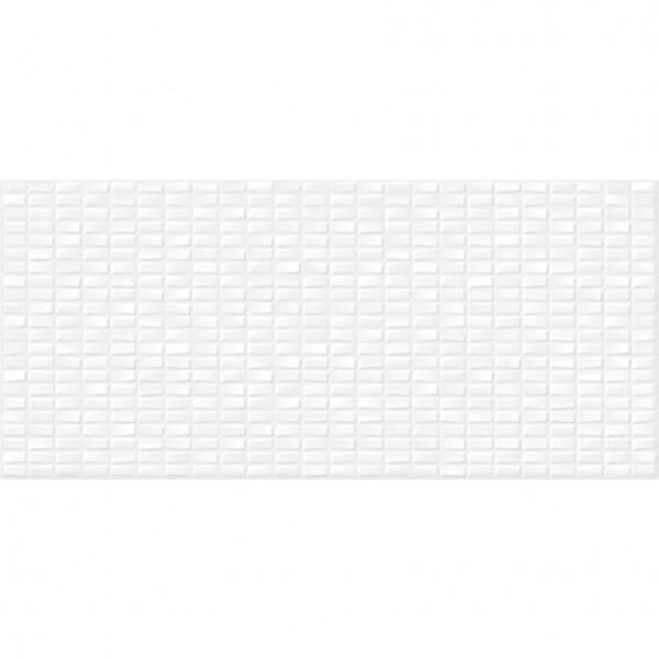 настенная плитка pudra 20х44 белый
