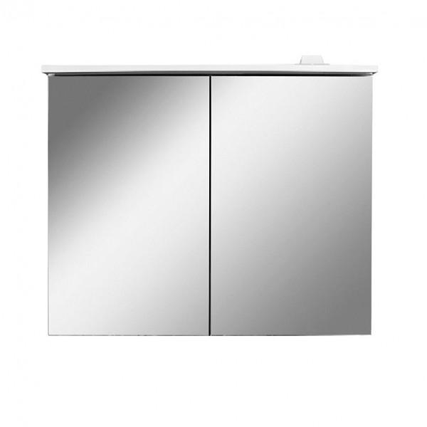 шкаф-зеркало с led-подсветкой am.pm spirit 2.0 80см m70amcx0801wg белый