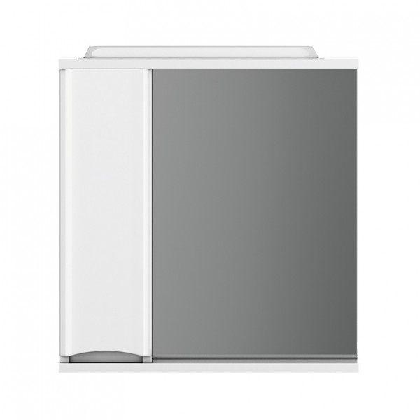 шкаф-зеркало с подсветкой am.pm like 65см m80mpl0651wg белый