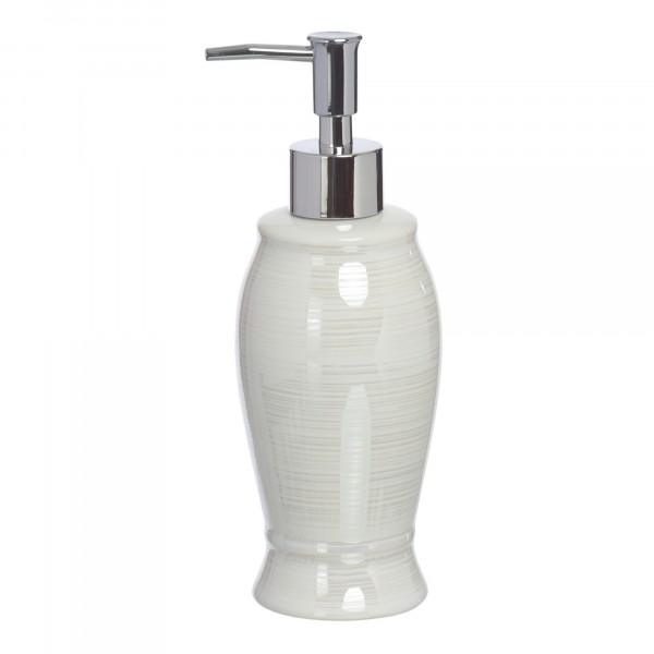 дозатор для жидкого мыла vanstore pearl белый