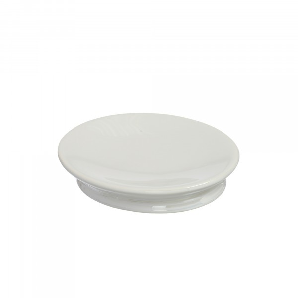 мыльница vanstore pearl белый