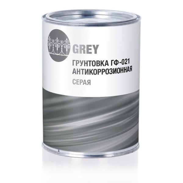 грунтовка стандарт гф-021 антикорозийная серая 16л.