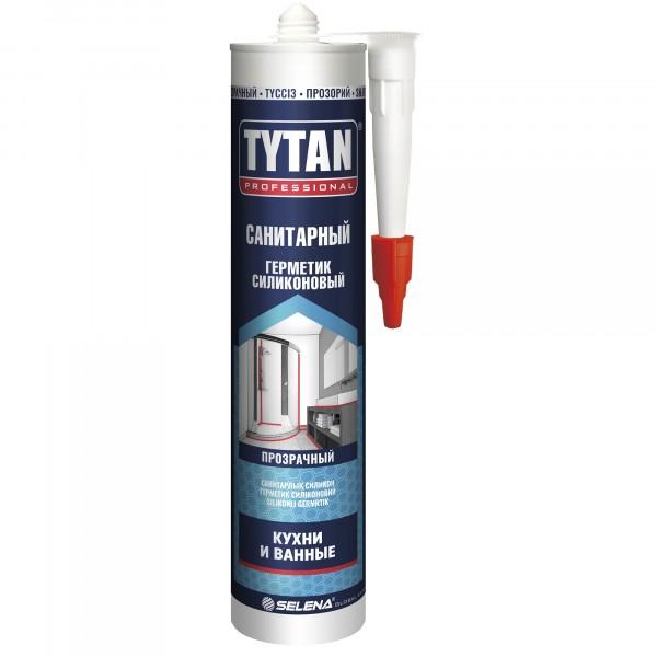 герметик tytan professional санитарный 280мл бесцветный