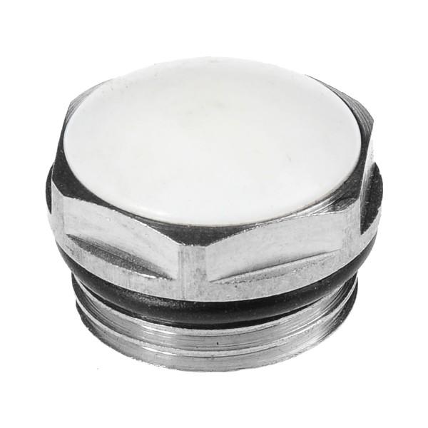 Фото - пробка для радиатора ал. 1 левая /шк/ переходник для радиатора ал 1 3 4 правый шк