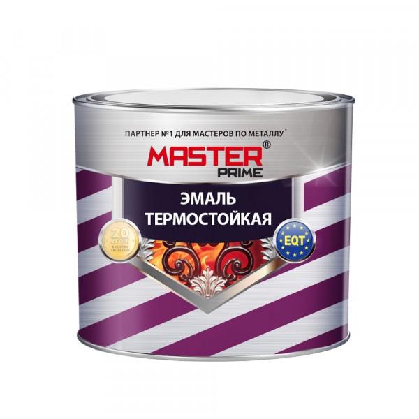 эмаль термостойкая master prime красно-коричневый 0.4 кг