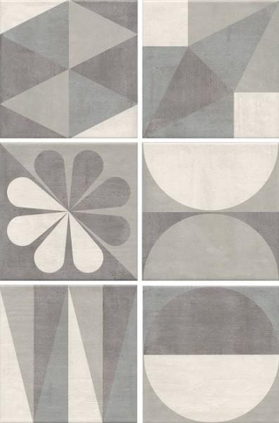 Фото - плитка настенная понти 20х20 серый декор 5286 плитка настенная 20х20 суррей орнамент бежевый