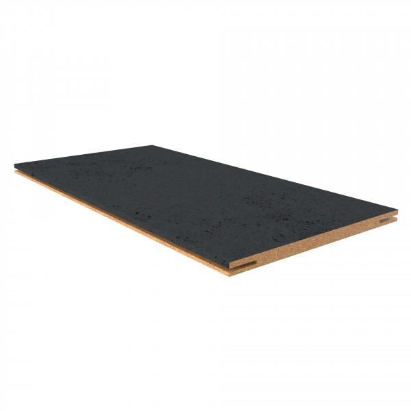 добор плоский,пвх 2150х150х10мм, бетон тёмный