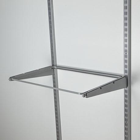 рамка выдвижная мет. 595х430 мм, серая