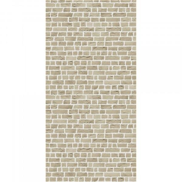 панель стеновая мдф 1220х2440х6мм кирпич бежевый