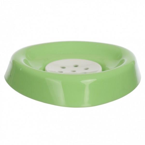 мыльница smile зеленый 408-04