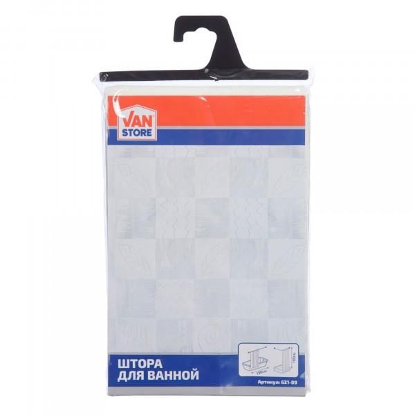 занавеска в пакете diffus кремовый полиэстер 180x180 см