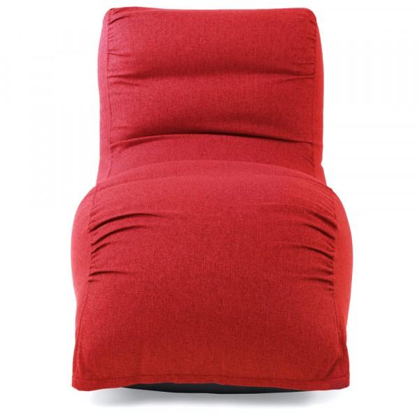 пуф шезлонг камелот (красный)