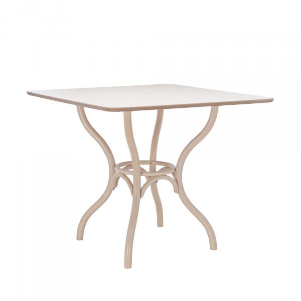 стол обеденный leset тор квадрат.0,9x0,9м белёный дуб