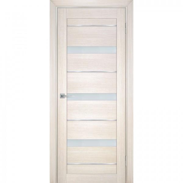 полотно дверное остеклённое техно 742 2000х800мм.,nanotex, цвет сандал бежевый