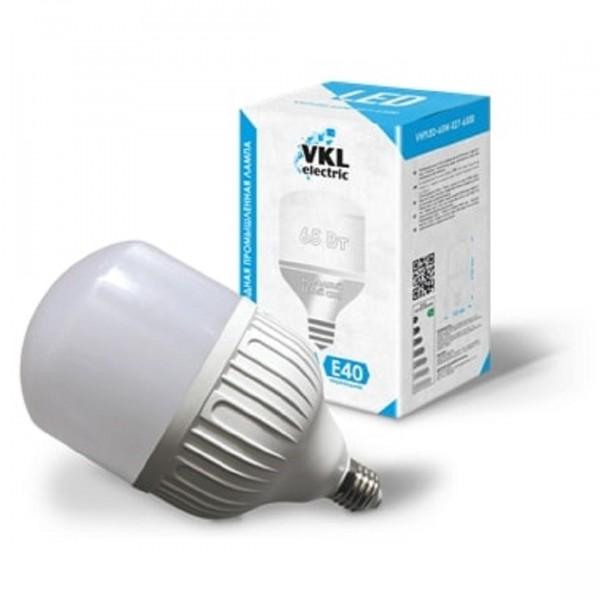 лампа светодиодная vkl electric 1190985 е27 груша 65вт 6500к