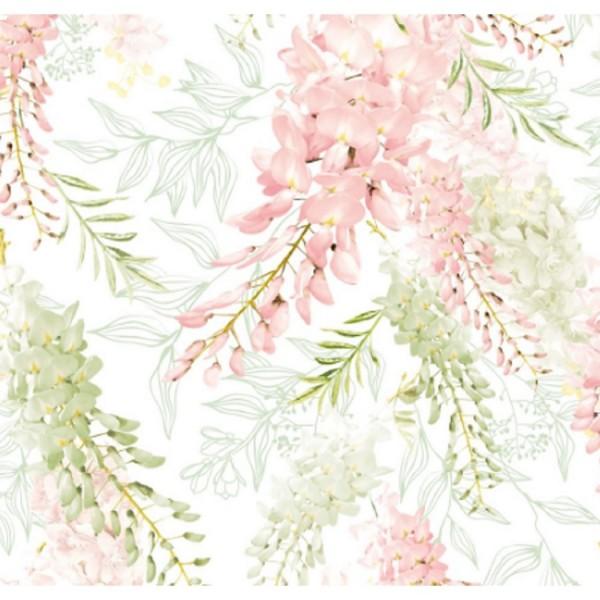 обои 1034-04п пермские обои павлин бумага 0.53x10,05м цветы многоцветный