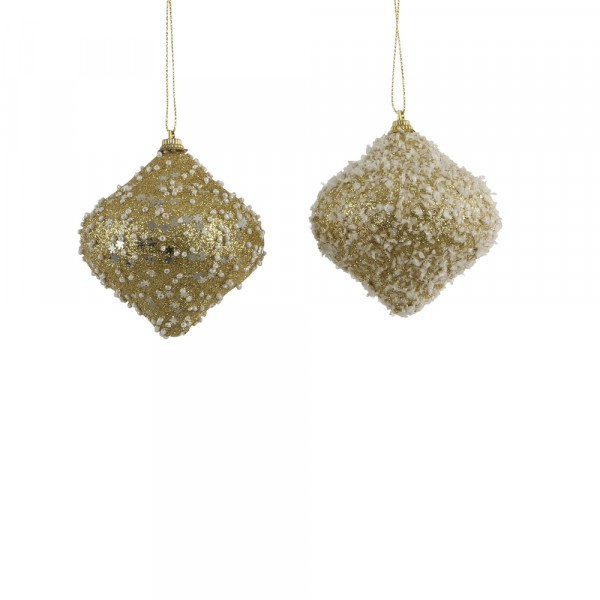 украшение подвесное шар-луковка 8*8см house of seasons золото 83854