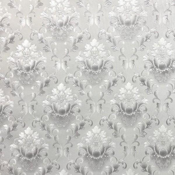 обои fm71628-14 family флизелин 1.06x10,06м дамаск серый