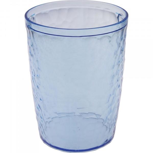 стакан в ванную комнату 350мл natural stone branq пластик голубой прозрачный bq1216глпр