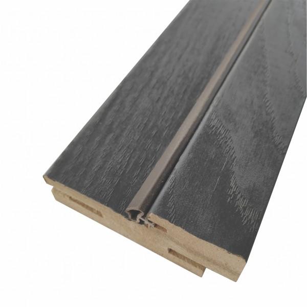 коробочный брус плоский,пвх 2070х70х26мм,серена графит