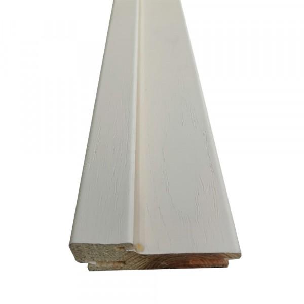 коробочный брус плоский,пвх 2050х690х28мм,ясень ваниль