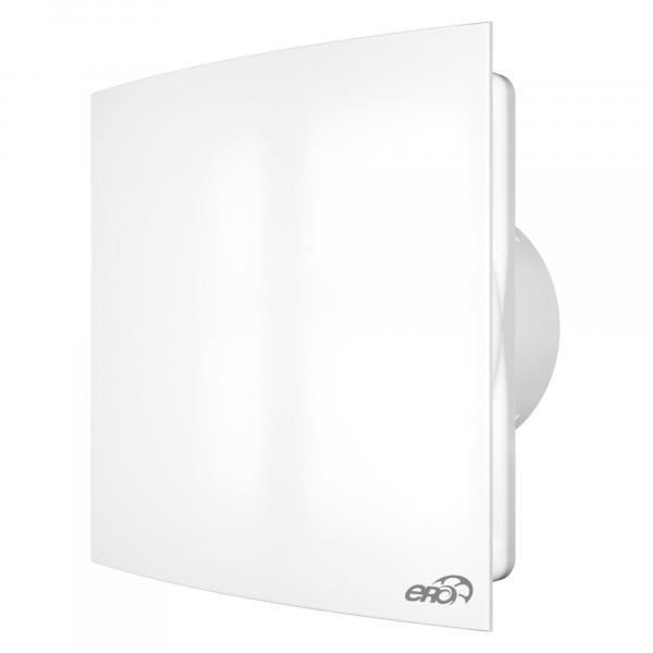 вентилятор вытяжной осевой накладной 125мм quadro 5с белый, с обратным клапаном, эра