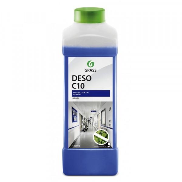 средство моющее для полов/стен 1л deso grass 125190 средство моющее для полов grass arena 1л