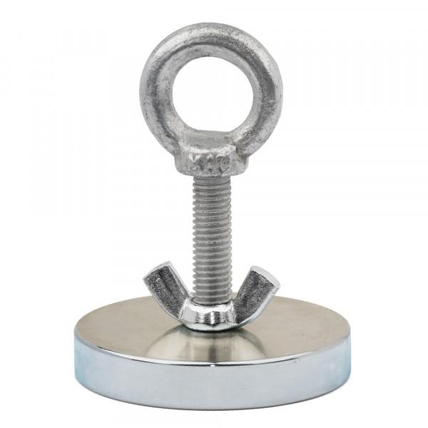 поисковый магнит односторонний f120, сила сц. 140 кг forceberg 9-2012080