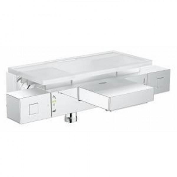 смеситель для ванны с душем grohe grohtherm cube 34502000 смеситель для ванны с подключением душа grohe grohtherm cube 34502000