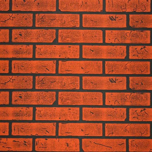 панель стеновая мдф 1220х2440х6мм кирпич красный обожженый