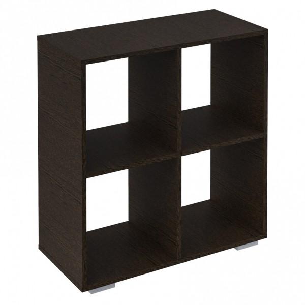 Фото - стеллаж 4 секции венге темный (0,73*0,34*0,75) стеллаж 3 секции белый 0 38 0 34 1 11