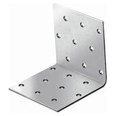 крепежный угол равносторонний-80х40х40 x 2,0