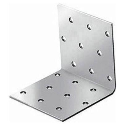крепежный угол равносторонний-80х80х80 x 2,0