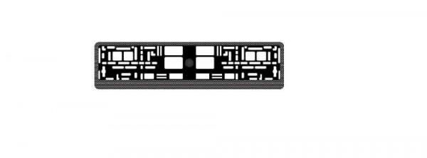 рамка номерного знака avs карбон rn-04