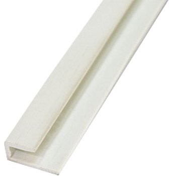 профиль пвх окантовочный 3мм 2,44м белый /а/