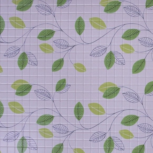 панель пвх 0,96*0,485*0,002 мозаика листья (200)