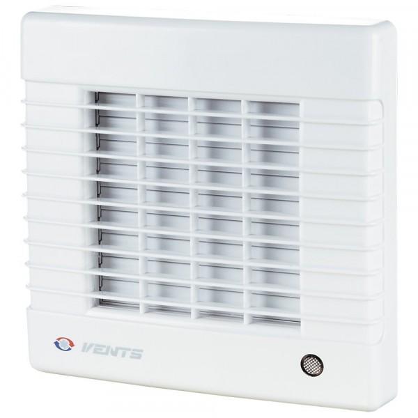 вентилятор вытяжной осевой накладной 100мм вентс 100ма белый, с автомат.жалюзи., vents