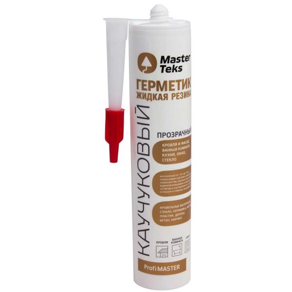 герметик masterteks каучуковый жидкая резина 290мл бесцветный