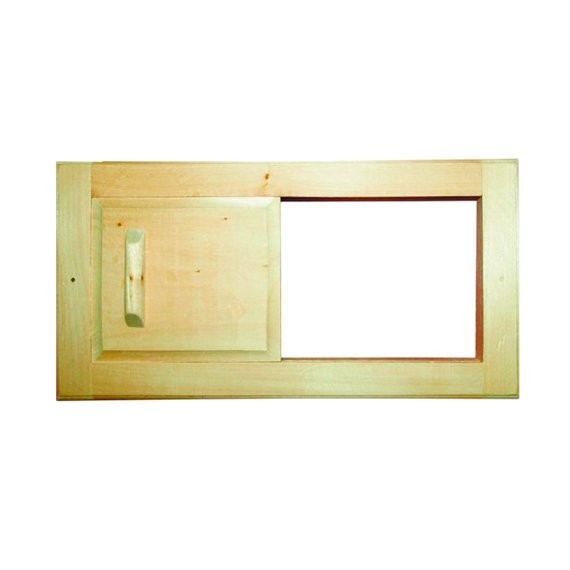 решетка вентиляционная с задвижкой, липа, 31,5*16,5 см банные штучки