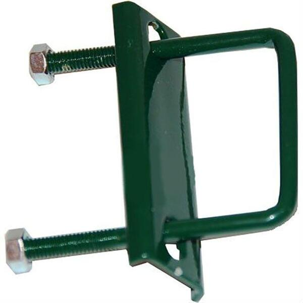 хомут для сварной сетки, цвет зеленый, 40 х 40 мм, 3 шт