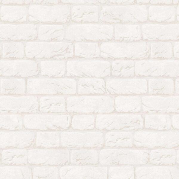 обои vv31115-11 vog collection кирпичи флизелин 1.06x10,05м под кирпич белый