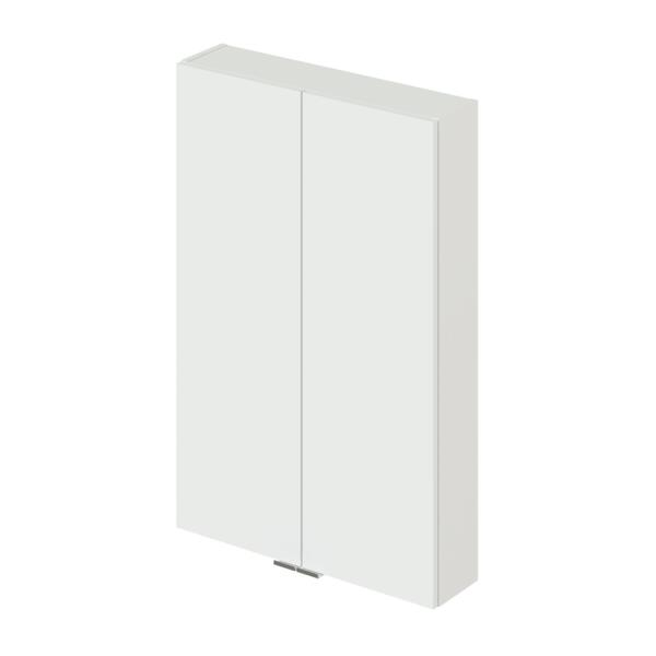 Фото - шкаф подвесной ika style 60 600х150х900 (белый глянец) тумба подвесная ika style 100 белый глянец